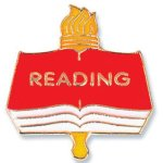 Reading Lapel Pin Chenille Lapel Pins