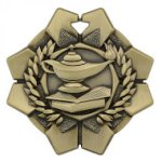 Imperial Medals -Lamp of Knowledge  Football Trophy Awards
