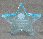 Star Acrylic Award Sales Awards