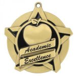 Super Star Medal -Academic Excellence  Scholastic Trophy Awards