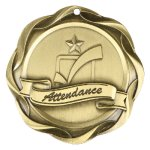 Fusion Medal  - Attendance Scholastic Trophy Awards