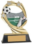 Soccer Cosmic Resin Trophy Soccer Trophy Awards